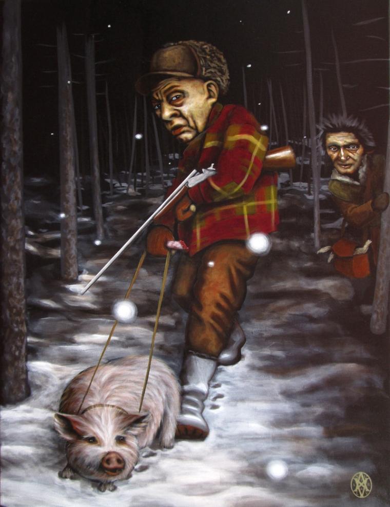 La chasse des maîtres